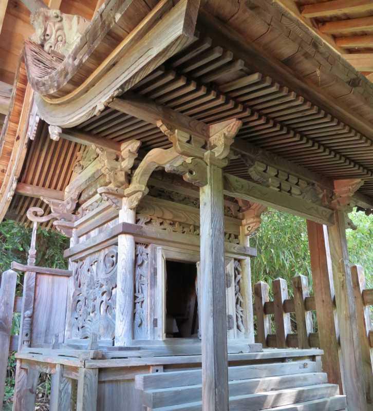 戸澤神社御本殿