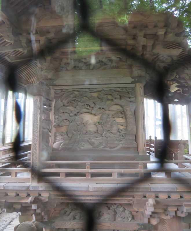 瀬神社御本殿左面