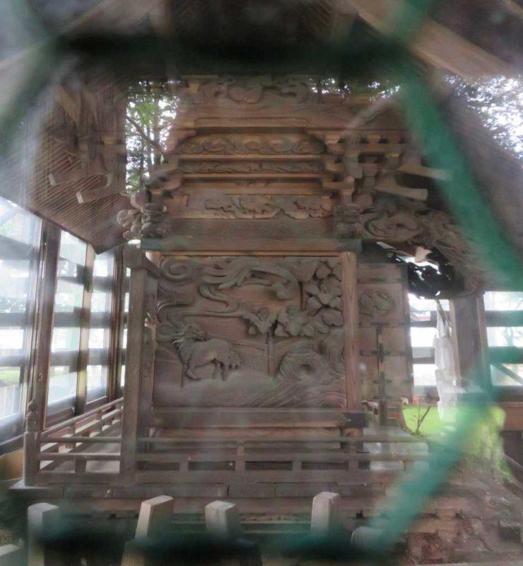 豊郷神社御本殿左面