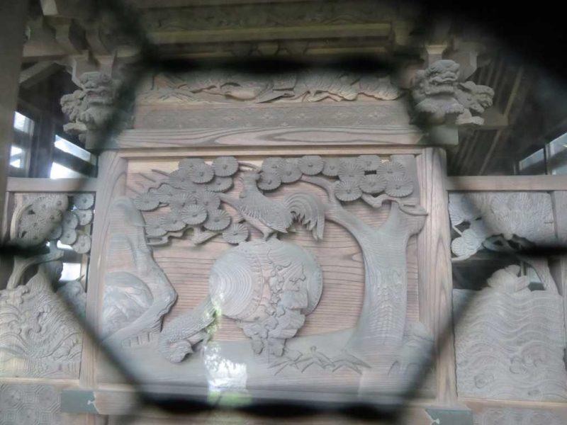 豊郷神社御本殿背面