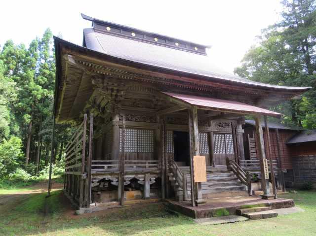 密蔵院護摩堂