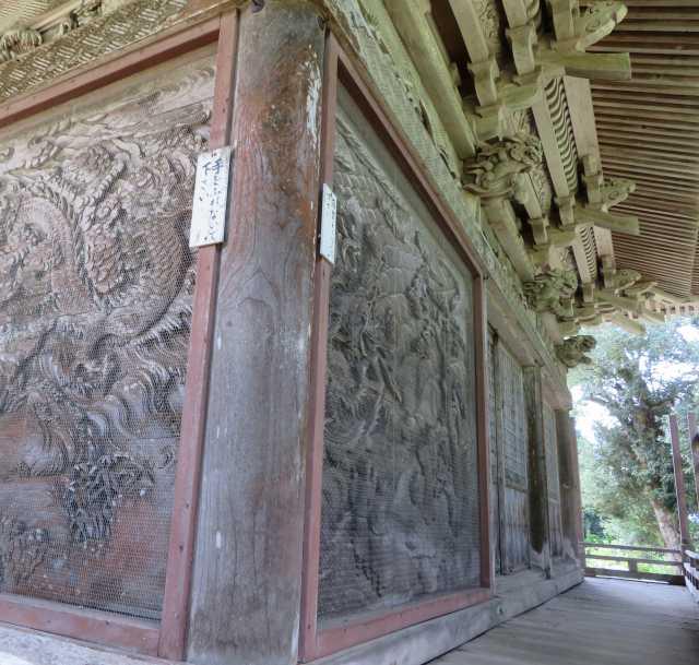 密蔵院護摩堂回廊