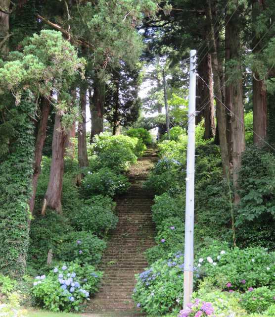 密蔵院護摩堂階段