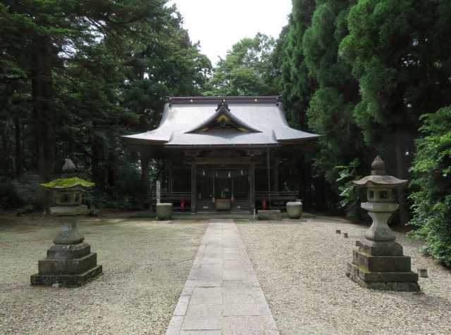石動神社拝殿