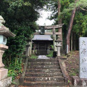 大峰神社鳥居