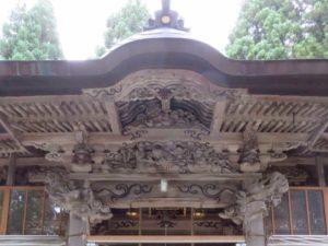 羽黒神社向拝
