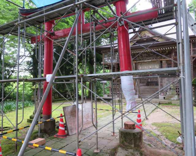 巣守神社ニノ鳥居