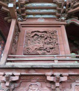 日枝神社御本殿左面
