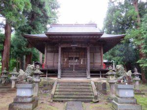 大峰神社拝殿