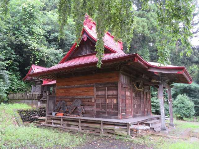 荘田神社社殿