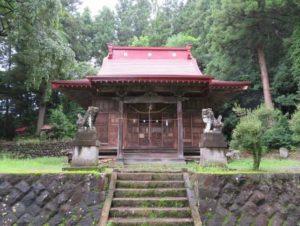 荘田神社拝殿