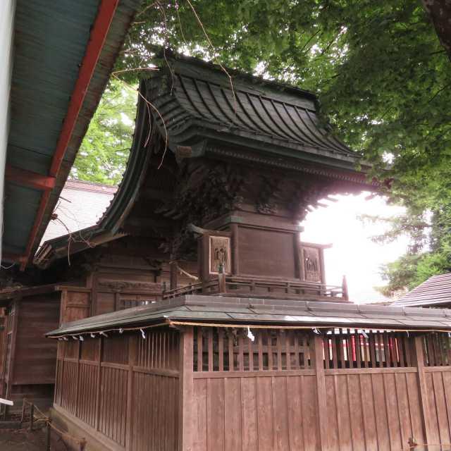 須賀神社御本殿背面