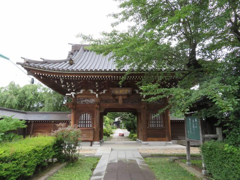 真田氏の菩提寺、曹洞宗慈眼山舒林寺の山門には見事な彫り物がありました。