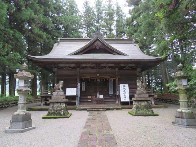 吾妻神社拝殿