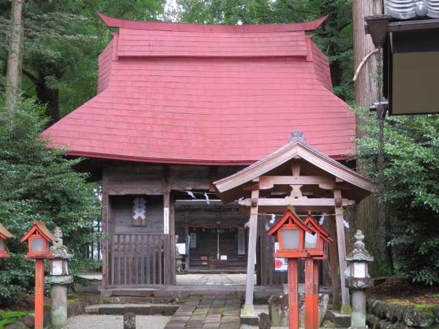 吾妻神社門