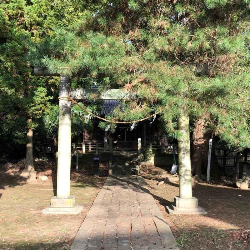 楠木神社鳥居