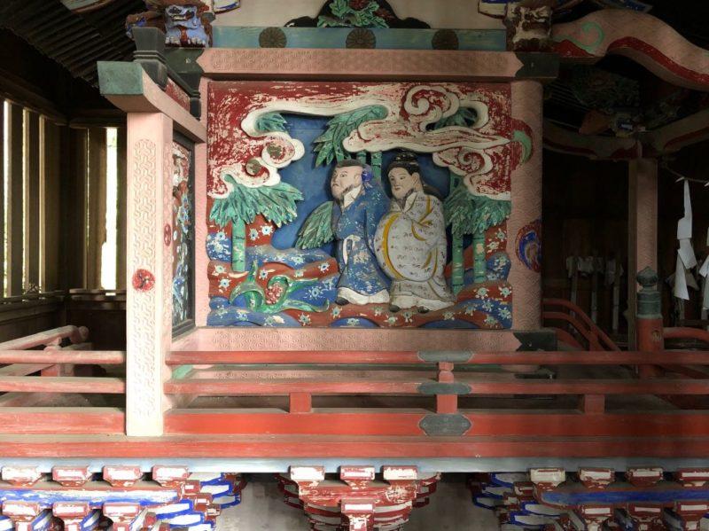 西浦神社御本殿左面