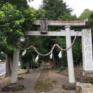 露垂根神社鳥居