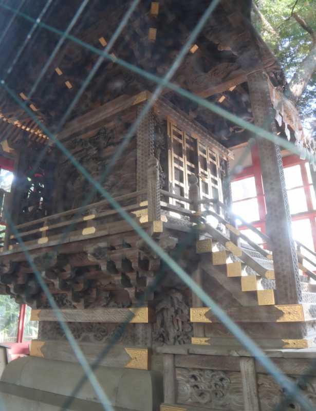 秋津神社御本殿