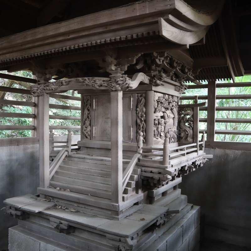 日枝神社御本殿