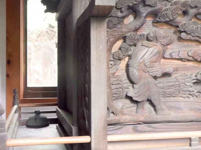 三嶋神社御本殿背面