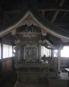 大前神社御本殿左面