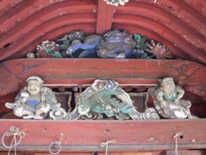 星宮神社拝殿向拝