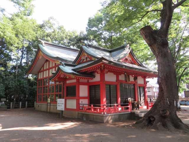 秋津神社社殿