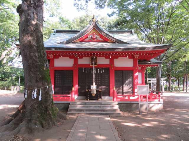秋津神社拝殿