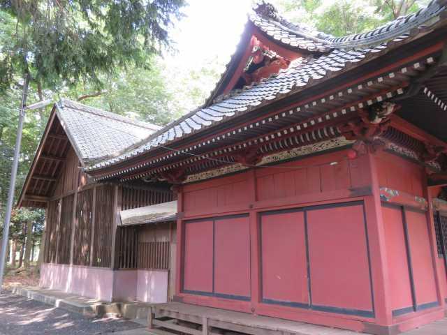 中氷川神社社殿