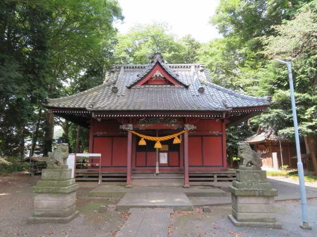 中氷川神社拝殿