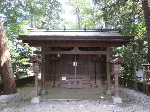 堀兼神社拝殿