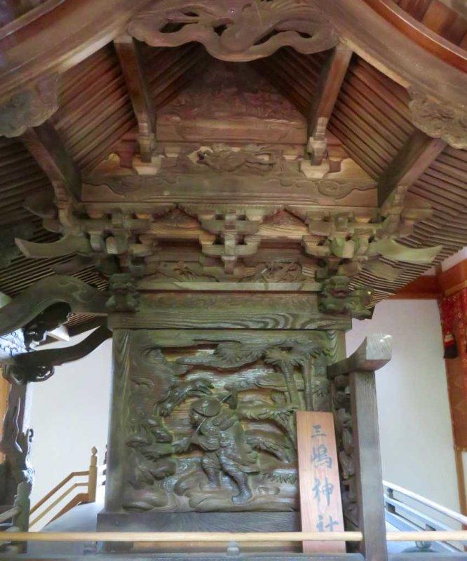 三嶋神社御本殿右面