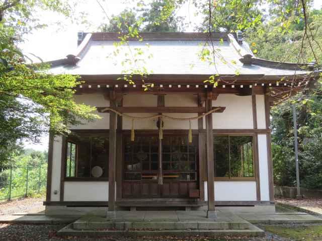 三嶋神社拝殿