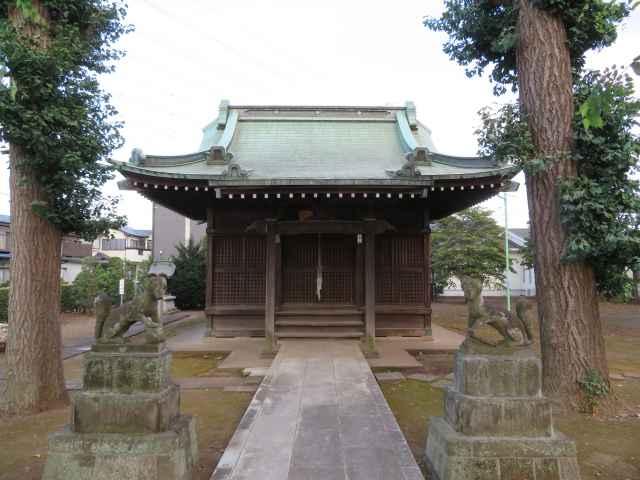 砂久保稲荷神社拝殿