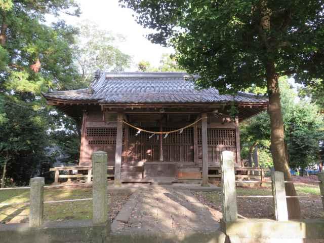 楠木神社拝殿