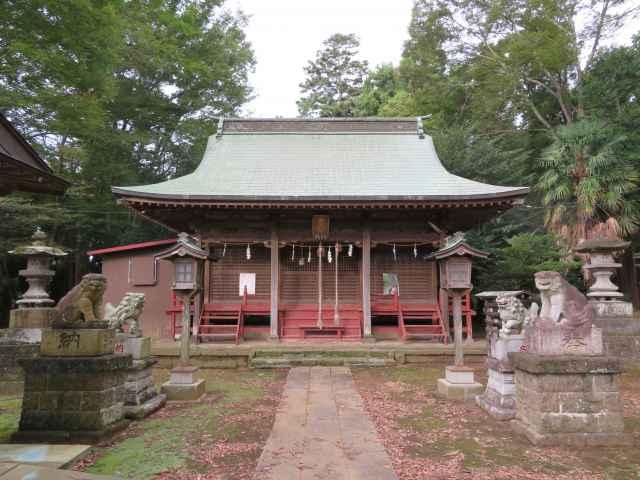 藤岡神社拝殿