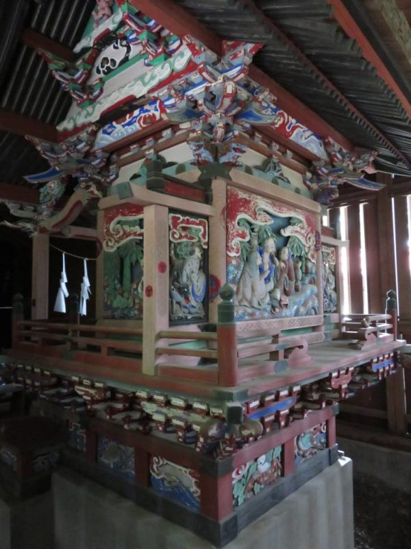 西浦神社御本殿