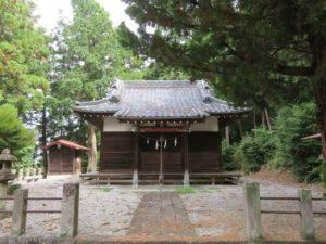 西浦神社拝殿