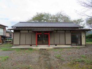 時平神社拝殿