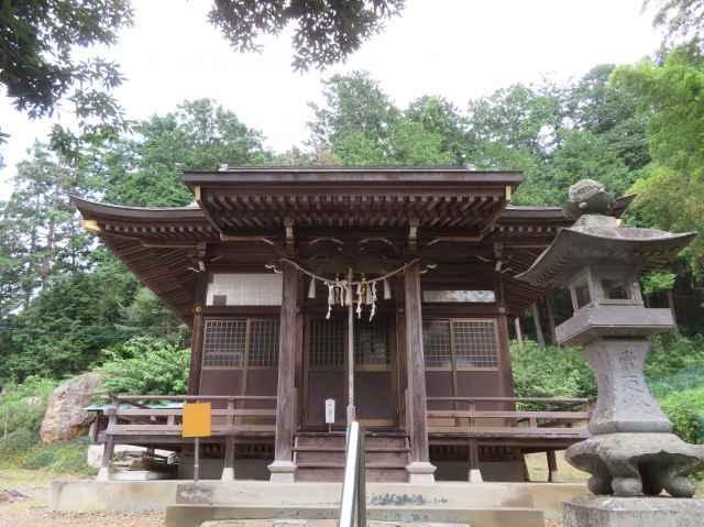 小梥神社拝殿