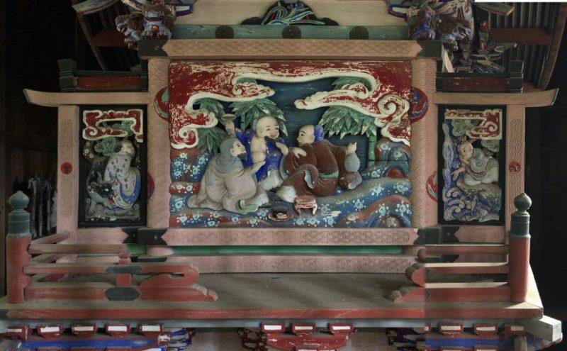 西浦神社御本殿背面