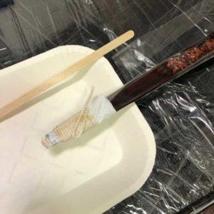 手彫り刺し棒