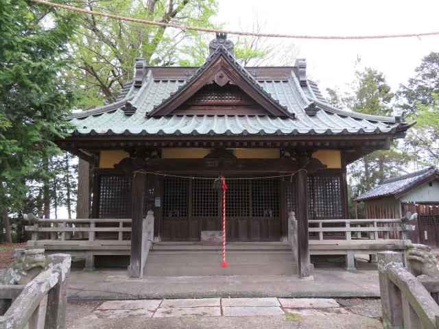 麦倉八坂神社拝殿