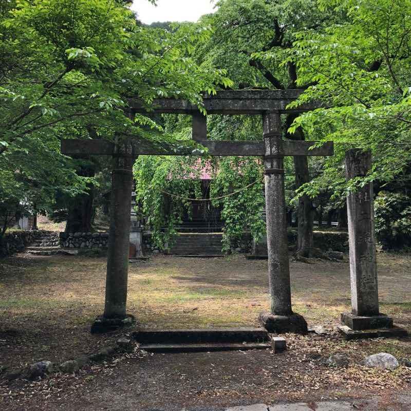 二渡神社鳥居