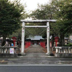 金井神社鳥居