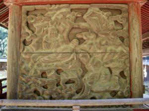 熊野神社(長沼八幡宮境内社)胴羽目