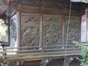 二荒山神社(長沼八幡宮境内社)背面