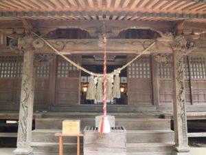 東蕗田天満社拝殿向拝
