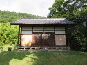 畑山神社拝殿